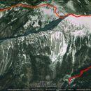 1344m vzpona, 1428m spusta, 13,8km