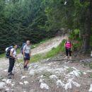 Zgodnji start s Planine Blato