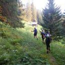 Pot čez Planino Zgornja Grintovica (1250m)