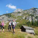 Pot proti Velemu polju mimo Planine pod Mišelj vrhom
