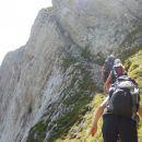 Vzpon čez severno steno Koštrunovca