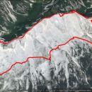 Krožna-Vršič-Mojstrovke-Travnik-Vršič,14,1km,1415m vzpona