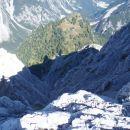 Vedno manjše Sleme nad dolino Tamar.