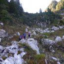 Pot na Jezersko sedlo