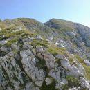 Razgled iz poti na vrh Jerebice