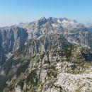 Razgled iz vrha na Kanin