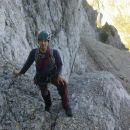 Poplezavanje proti drugemu skalnemu skoku