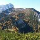 Razgled iz vrha na Škrnatarico, Kukovo špico, Sleme in Drobeče Sleme
