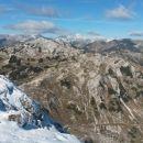 Razgled iz vrha na Bavški Grintavec