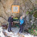 Izhodišče na prelazu Cristo di Forca