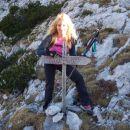 Tu nadaljujemo pot na Veliki vrh (Veža)