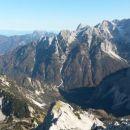 Razgled iz vrha na Kepo, Špik, Ponce, Škrlatico in Dolkovo špico
