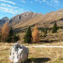 Razgled iz Planine Pecol na Strmo peč