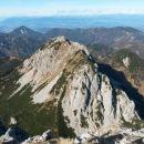 Razgled iz vrha na Košutico