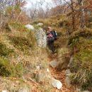 Strmi del poti na Svinjak