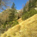 Vzpon čez Brinje