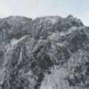Razgled iz vrha na greben od Zadnje Ponce (levo) do Visoke Ponce (desno)