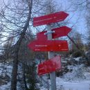 Razpotje poti, kjer se usmerimo desno