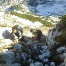 Vzpon na Mali Draški vrh čez vzhodno grapo