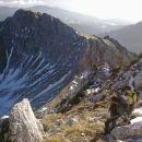 Vzpon na Mali Draški vrh čez vzhodno grapo ter razgled na Viševnik