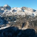 Razgled iz vrha na Triglav, Kredarico in Rž