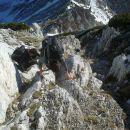 Spust iz Malega Draškega vrha po zahodni grapi