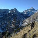 Vzpon na Viševnik ter razgled na Tosc, Veliki Draški vrh in Triglav
