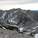Razgled iz vrha na Begunjščico
