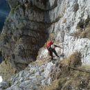 Zavarovana plezalna pot na Kogel čez Gamsov skret