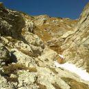 Pogled na nadaljnjo pot na Kogel čez Gamsov skret