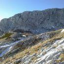 Pogled proti Bivaku pod Grintovcem