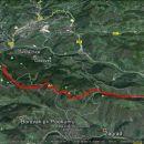 Kum po Škratovi na vrh in dol v Završje-17,1km in 1120 vzpona.
