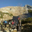 Na Jezercih in razgled na Mali Draški vrh