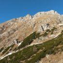 Razgled iz poti na južna pobočja Tosca