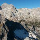 Razgled iz vrha na Vernar (spredaj), Triglav, Kredarico in Rž