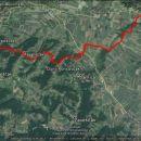 14,5 km dolga pot po hribih Medžimurja.