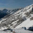 Razgled iz vrha na Krn, Bavški Grintavec in Veliko Mojstrovko