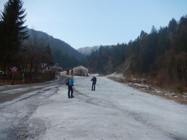 Izhodišče v Žabnici / Camporosso in Valcanale