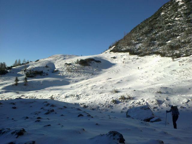 Pot proti Planini Koren