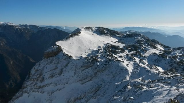 Razgled iz vrha na Kompotelo