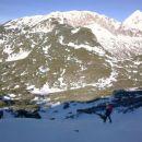 Nadaljnja pot proti Kalškemu grebenu ter razgled nanj in Grintovec
