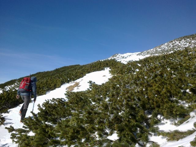Pot proti Kalškemu grebenu