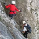 Furlanova zavarovana plezalna pot