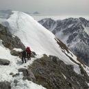 Vzpon proti vrhu Vrtače