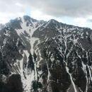 Razgled z Srednjega vrha na Begunjščico
