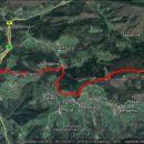 Na Čemšeniško 11,8 KM, 680 m vzpona in 950 m spusta.