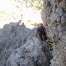 Plezalna pot na Rjavino