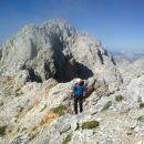 Pot proti vrhu Rjavine