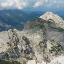 Razgled z Begunjskega vrha na Cmir