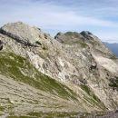 Razgled na celotna strma pobočja Cmira